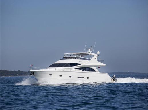 Sale of 65' Marquis Flybridge Yacht